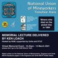 David Jones / Joe Green Memorial Lecture 2021.